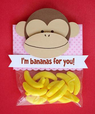 Monkey Valentines Day Gift