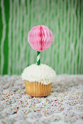 Ball Drop Cupcake Toppers