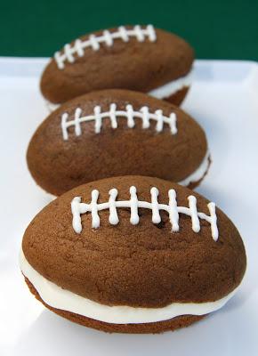 Football Woopie Pies
