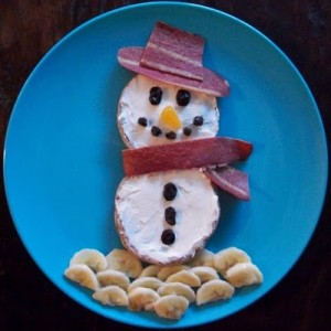 A Snowman Breakfast