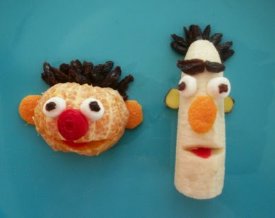 Ernie and Bert Fruit