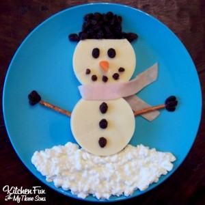 A Snowman Lunch!