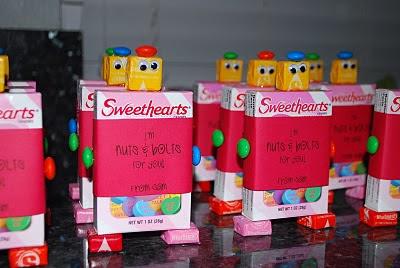 Valentine Robots