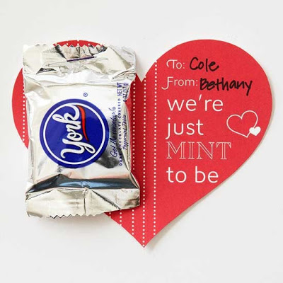 """""""We were Mint to be together"""" Valentine"""
