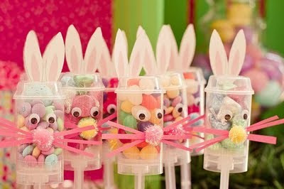 Easter Bunny Push Pops