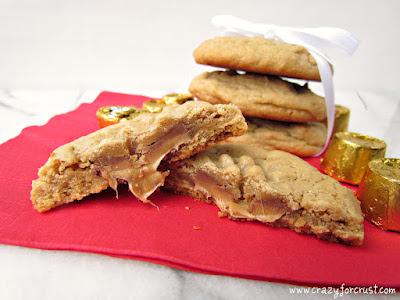 Rolo Peanut Butter Cookies