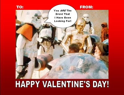 Star Wars Valentine's Day FREE Printable!