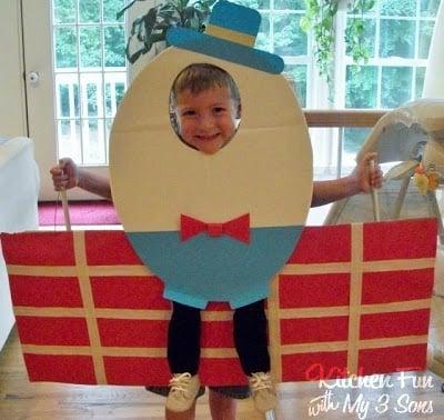 Humpty Dumpty fell off a Sandwich!