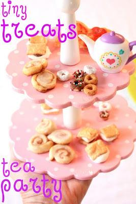Tiny Treats For a Tea Party