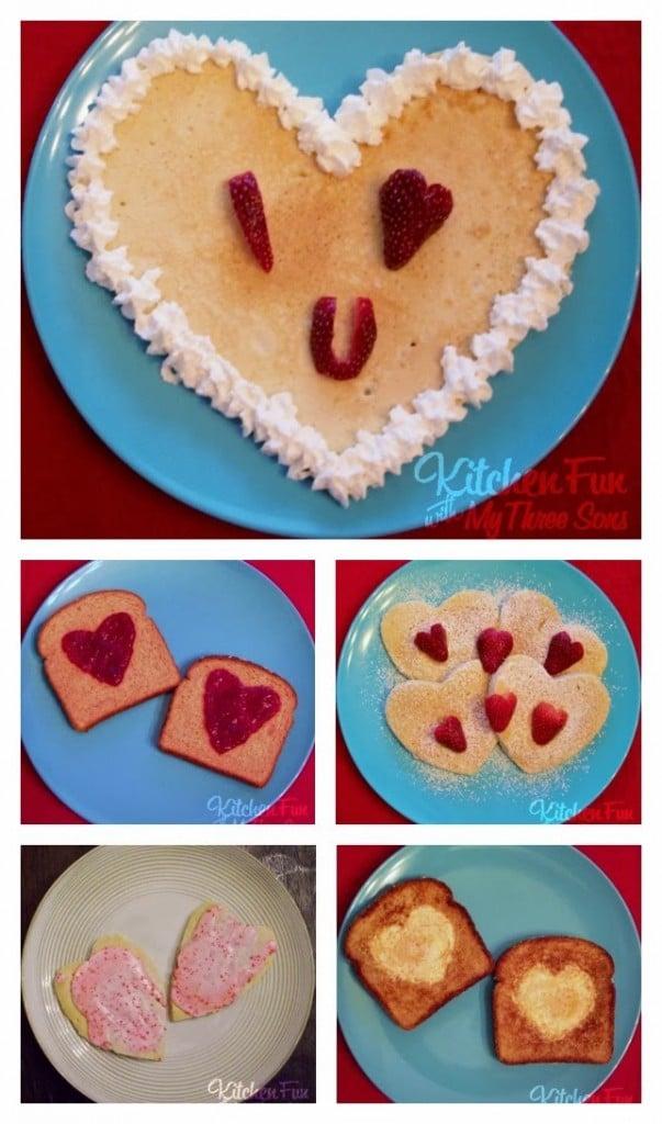Valentine Pancakes & other Breakfast Ideas