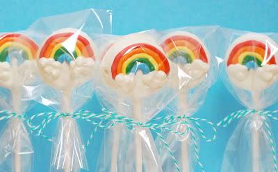 Oreo Rainbow Pops