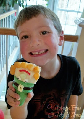Leprechaun Ice Cream for St. Patrick's Day!