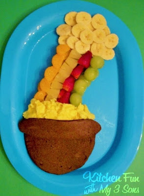 Lucky Rainbow Breakfast