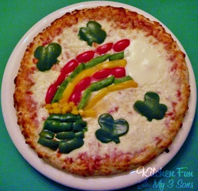 St. Patrick's Day Pizzas