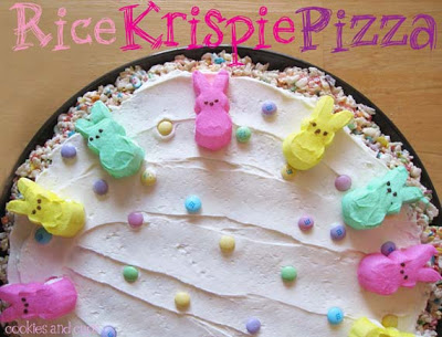 Easter Bunny Pizza