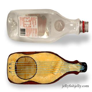 Bottle Guitar