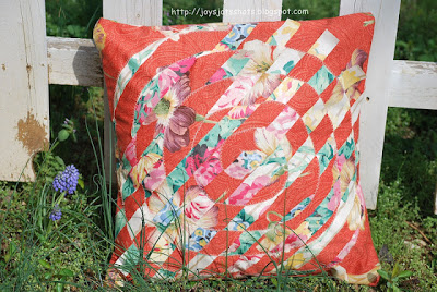 Weaved Circle Pillow Cover