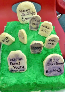 Grave Cake