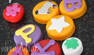 Bottle Cap Stamps