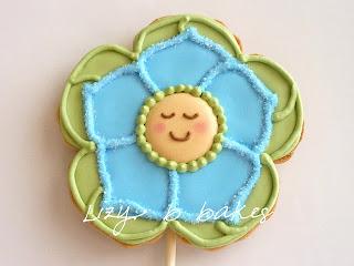 Flower Baby Cookies