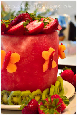 Cake made with Fruit