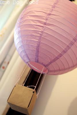 Paper Latern Hot Air Baloon