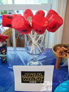 Star Wars Pops