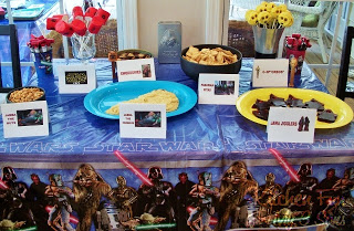 Our 2012 Collection of Star Wars Party Food & Crafts!