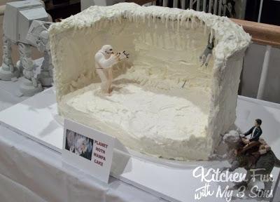 Planet Hoth Wampa Cake...Star Wars!