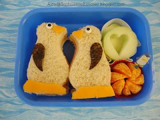 Penguin Bento Lunch