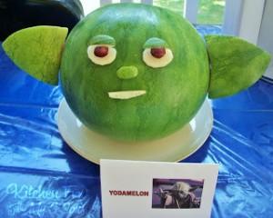 Star Wars Yodamelon!