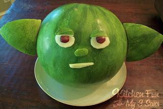 Star Wars Yoda watermelon!