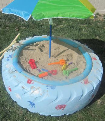 DIY Sandbox Tire