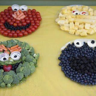 Sesame Street snack