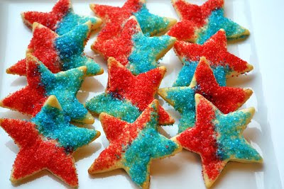 Patriotic Pie Crust Stars