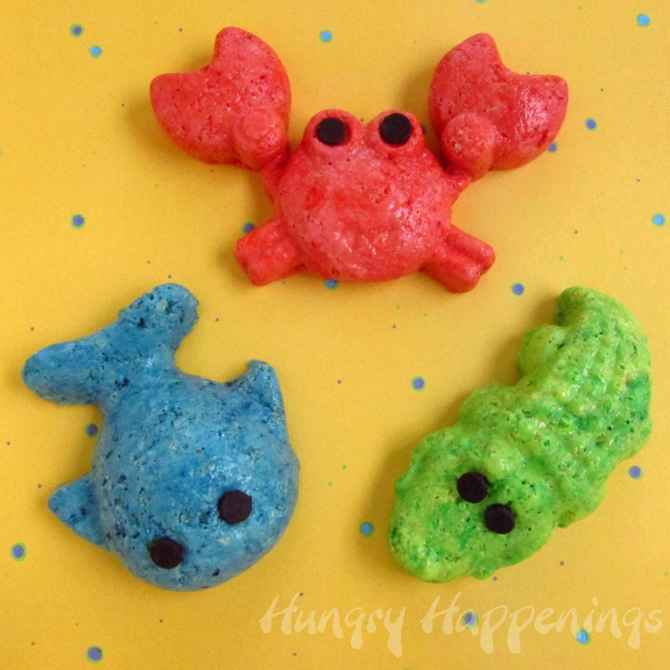 May The Fourth Be With You Treats: Rice Krispie Animals & Sea Life Creatures!