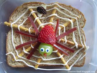Very Busy Spider Sandwich