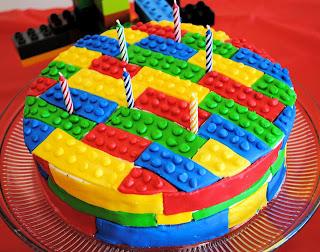 Lego Party Cake