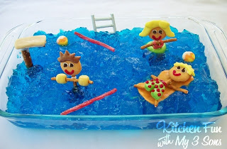 Pool Party Snack Ideas pool party birthday party ideas Pool Party Jell O Dessert Kitchen Fun With My 3 Sons