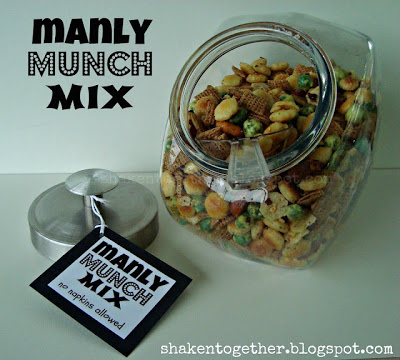 Manly Munch Mix