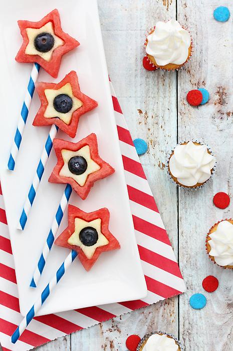 Patriotic Fruit Pops