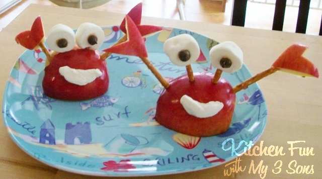 Crabby Apple Fruit Snack from KitchenFunWithMy3Sons.com