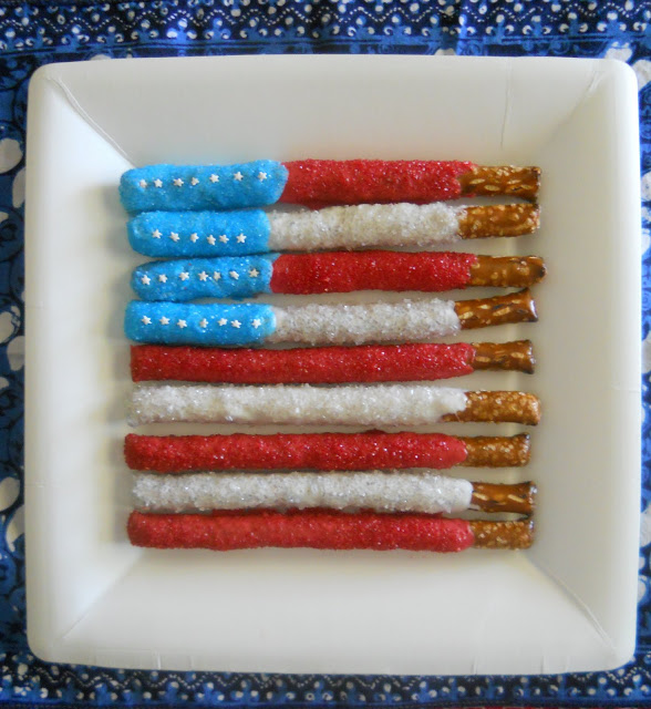 Food Network The Kitchen Patriotic Party