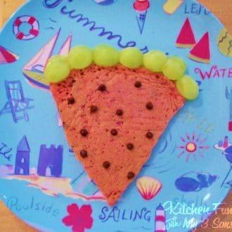 Watermelon Pancakes For Kids