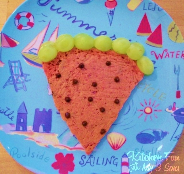 Watermelon Pancakes For Kids