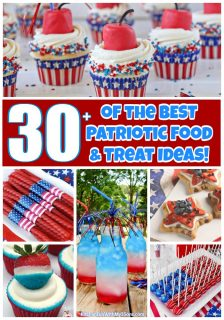 30+ Patriotic Food and Treat ideas!