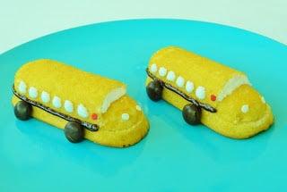Back to School Bus Twinkies