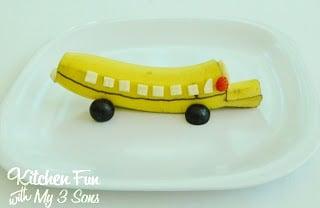 Banana School Bus