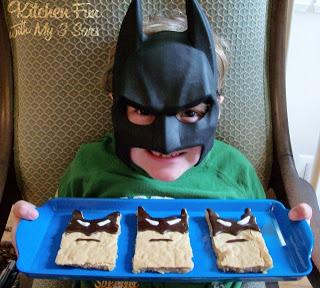 Batman Blondie Brownies
