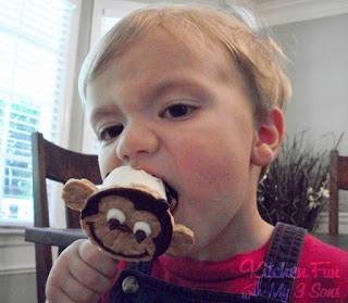 Curious George S'more Pops